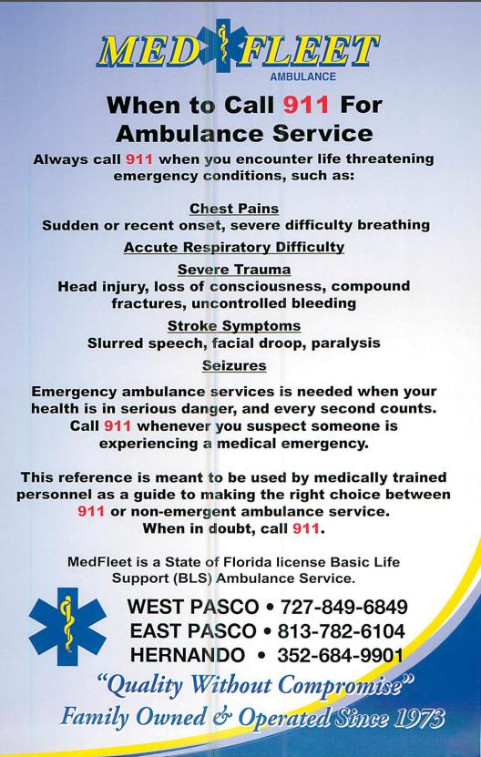 Ambulance Service - MedFleet, Inc